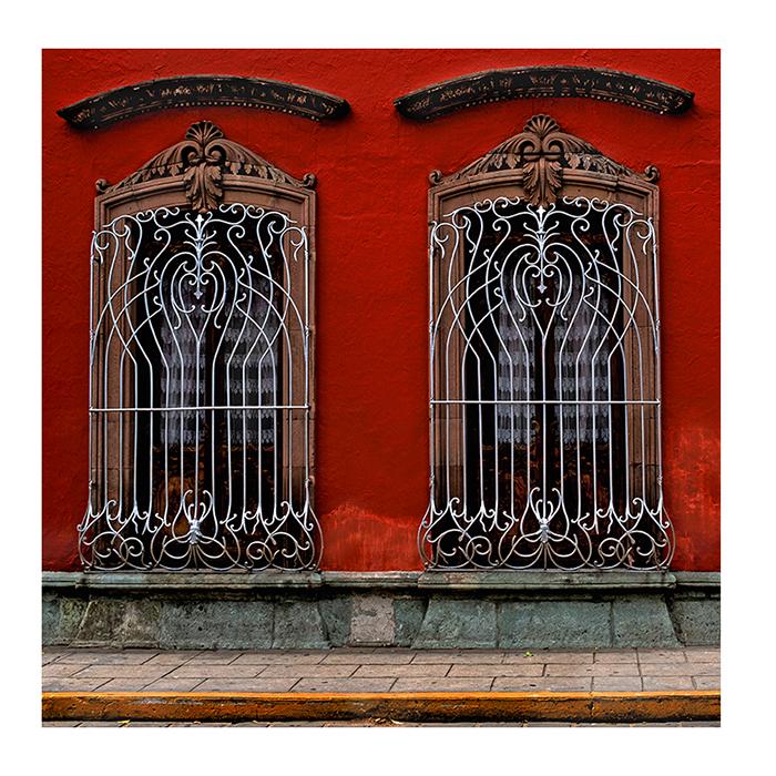 Double Silver Window Grate