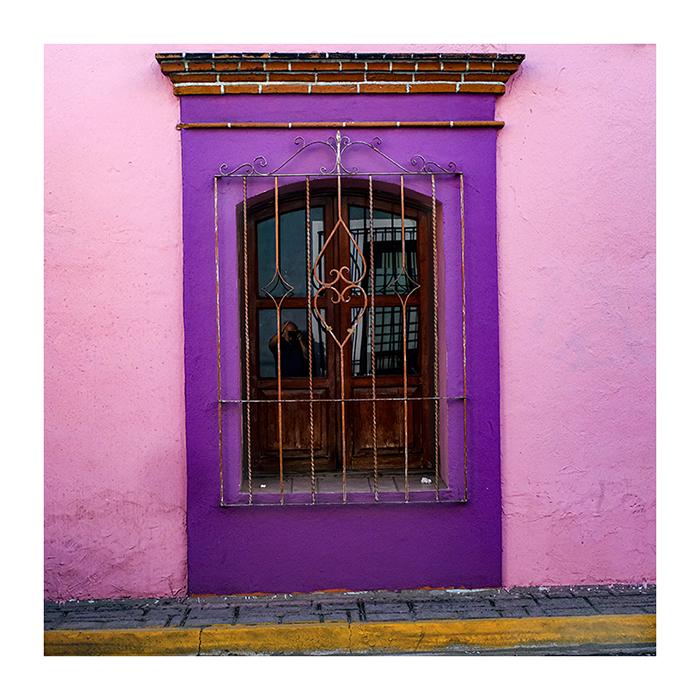 Purple Window Oaxaca