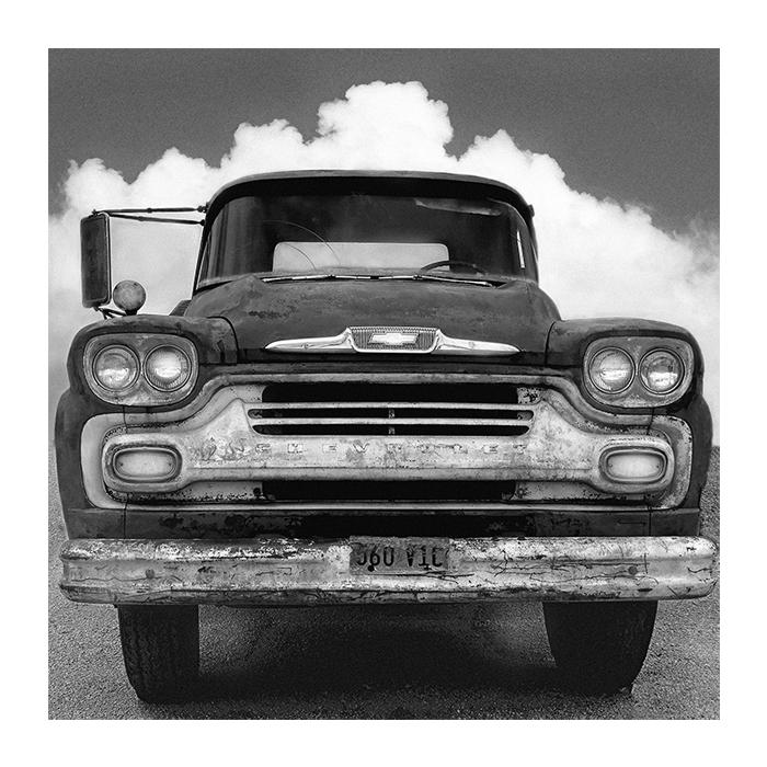 Round Top 1959 Chevy Truck